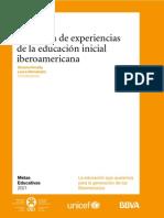 Antología de Experiencias de la Educación Inicial Iberoamericana