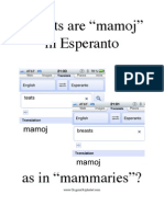 """Breasts"" are ""mamoj"" in Esperanto"