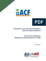Evaluation Bokoro.province Du Bandundu.rdc.2010
