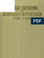 1936 Yearbook of Jehovahs Witnesses