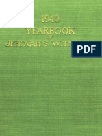 1940 Yearbook of Jehovahs Witnesses