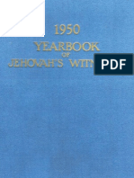 1950 Yearbook of Jehovahs Witnesses