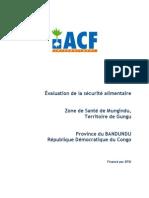 Evaluation Mungindu.province Du Bandundu.rdc.2010