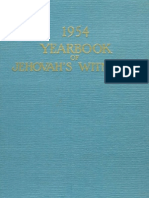 1954 Yearbook of Jehovahs Witnesses