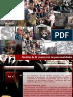 Protección de personalidades-normativa-2012-breve