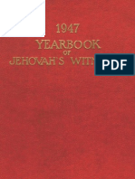 1947 Yearbook of Jehovahs Witnesses