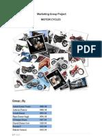 Consumer Buying Behavior in Indian Motorcycle Industry
