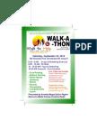 Walk to Help Flyer