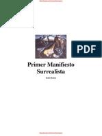 André Breton - Primer Manifiesto Surrealista