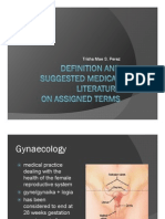 Gynecology, Health Informatics, Hematology, Histology