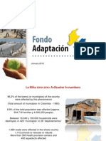 Colombia´s Adaptation Fund - Basic Introduction
