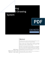 Developing AutoCAD Drawing Sys