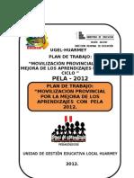 Plan de Taller i Huari - Pela 2012