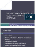 Seismic Performance of Electric Transmission Systems