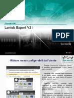 Novità Lantek Expert v31
