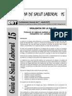 Protocolo Vigilancia sanitaria  Trabajadores con Pantallas