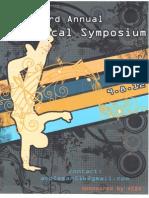 Male Vocal Symposium Flier
