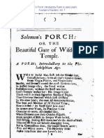Jane Lead - Solomon's Porch by Richard Roach
