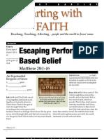 Faith 5 Matt 20-10-16 Handout 081912