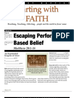 Faith 5 Matt 20-10-16 Handout 081912