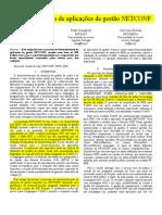 Desenvolvimento de aplicações de gestão NETCONF