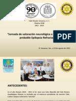 Rotario Valoración Epilepsia Refractaria Dr Soto Mancilla Veracruz