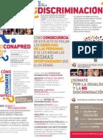 Folleto ¿Qué es la discriminación? - versión en español