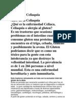 ABC de La Celiaquia