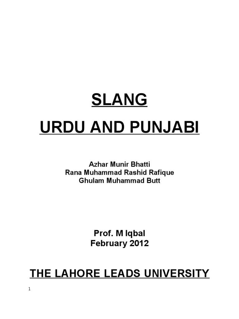 Punjabi words meaning
