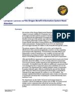 Secretary of State Audit Report