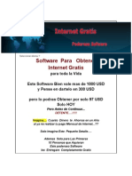 Software Para Obtener Internet Gratis