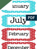 Multi Polka Dot Months2