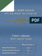 Tritium Risks Not Properly Assessed