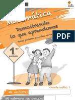 Cuadernillo 1 - Matemática
