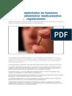 Chips Permiten Administrar Medicamentos Regularmente 2012