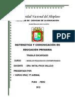 Escuela en Wancho Huancane