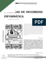 Politicas de Seguridad Informtica
