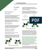 Stereo Isomerism