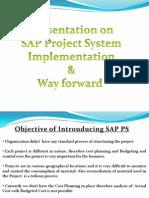 77011444 SAP PS Way Forward