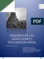 LEY DE ISR TITULO IV CAPÍTULO XI declaracion anual