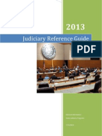 Judiciary Reference Guide
