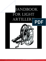 A Handbook for Light Artillery
