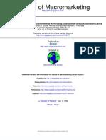 1996_Carlson_An International Comparison of Environmental Advertising Substantive Versus Associative Claims