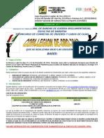 Convocatoria Copa Legión de Oro 2012 Oficial
