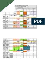 4th Term Class Schedule Latest(2011-13)