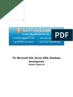 Free Microsoft 70-433 Demo