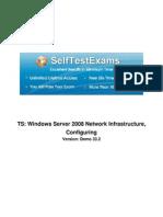 Microsoft 70-642 Mock Exams