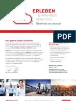 Einladung zum Claranet-Skyline-Event im Maintower in Frankfurt