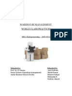 Warehouse Management-Final Project Report