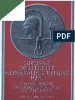 Grosse Deutsche Kunstausstellung 1941 - Offizieller Ausstellungskatalog (243 S., Scan)